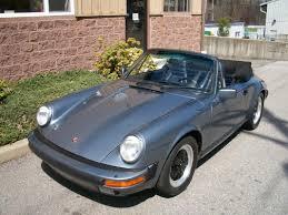 porsche slate gray metallic 84 911 cabriolet slate blue 2012