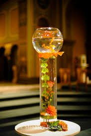 Goldfish Bowl Vase Collections Of Table Centerpieces Hanging Spendle Shaped Glass