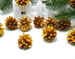 pine cone wreath etsy