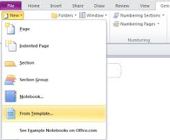 how to install the templates download from web into onenote