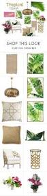 Tropical Home Decor Ideas by Best 25 Tropical Accessories And Decor Ideas On Pinterest