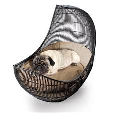 Modern Dog Furniture by Kenneth Cobonpue Voyage Pet Bed Style Bpva B 2431od Modern
