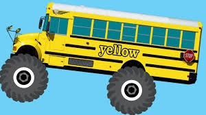 monster truck jam videos youtube monster truck buses teaching colors u0026 crushing words