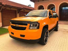 chevrolet suburban lifted 2013 chevrolet suburban 2500 yellow u0026 black v8 custom lifted