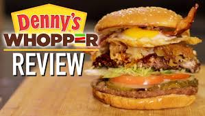 bk u0026 denny u0027s mashup burger youtube