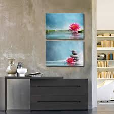 lotus picture prints canvas contemporary wall art home decor