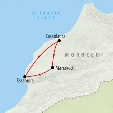 Map Of Morocco And Spain by Morocco Tours Holidays To Morocco On The Go Tours