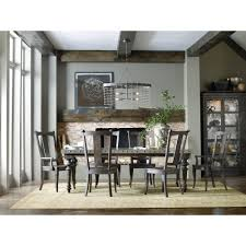 rectangular dining table with aluminum top by hooker furniture