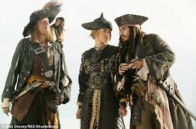 keira knightley secretly filming pirates caribbean scenes