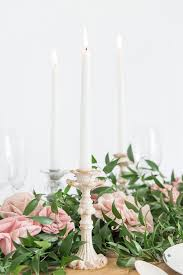 Flower Table Candles The Details Weddingstar Blog