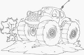 kidscolouringpages orgprint u0026 download bulldozer monster truck