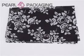 black and white gift wrap black white traditional painting style tissue paper
