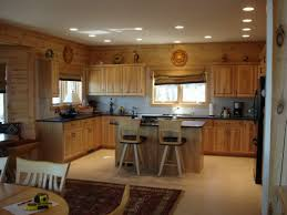 Double Sided Kitchen Cabinets Classy Kitchen Recessed Lights Features Ceiling Clear Downlights