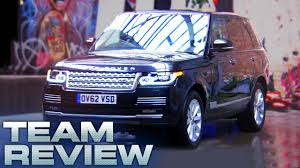range rover tiffany blue all new range rover team review fifth gear youtube