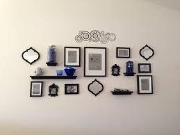 doctor who photo wall nerd tardi blue home decor diy
