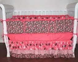 Custom Girls Bedding by Baby Bedding Etsy