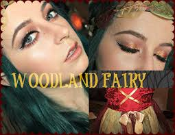Mother Nature Makeup For Halloween by Woodland Fairy Makeup Tutorial