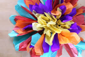 Paper Flowers Video - how to make your own paper flowers simplemost
