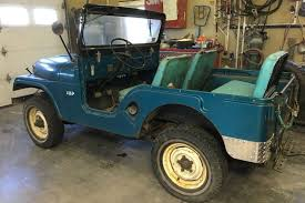 jeep cj5 original find with 15 643 miles