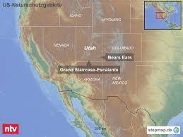 Continental Us Map Ringen Um Naturschutzgebiete Outdoor Hersteller Sagt Trump Den