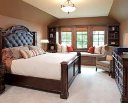 Bedroom Carpet Color Ideas - traditional dark bedroom ideas with brown wall paint color also