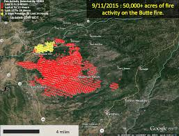 California Wildfires Hume Lake by California Smoke Information 09 11 15