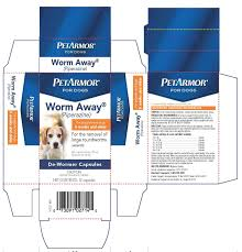 petarmor for dogs worm away