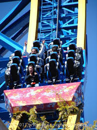 Six Flags Today Superman Testing Resumed Today At Six Flags Magic Mountain The