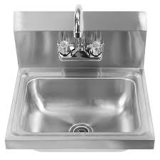 Commercial Kitchen Sinks Gridmann Commercial Nsf Stainless Steel Sink Wall Mount Hand