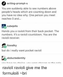 Les Meme - 25 best memes about ravioli ravioli ravioli ravioli memes