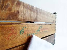Diy Storage Ottoman Upcycling Vintage Wooden Crate Diy Projects Craft Ideas How To S