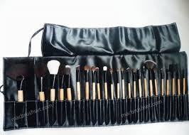 m a c professional m a c makeup brush set 24 pc new 38 95 pouch professional pieces