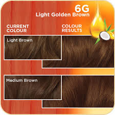 Golden Color Shades Clairol Natural Instincts Hair Colour 6g Light Golden Brown