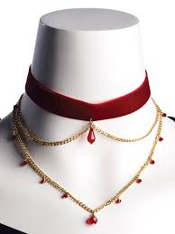 necklace jewelry patterns images Beading jewelry patterns necklace patterns red velvet choker jpg