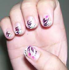 very easy nail art for short nails how you can do it at home