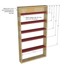 Building Wood Shelves In Pantry by Best 25 Pantry Door Organizer Ideas On Pinterest Pantry Door
