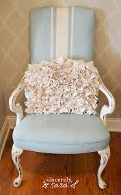 Fabric Paint For Upholstery Paint A Fabric Chair With Chalk Paint Sincerely Sara D