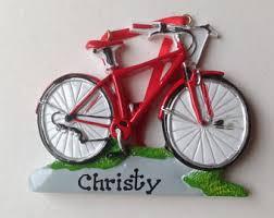 bike ornament etsy