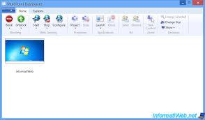 bureau virtuel windows 7 windows multipoint server 2012 activer et créer des bureaux