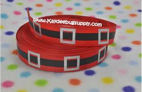 santa belt ribbon santa claus belt 78 inch