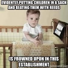 Etrade Baby Meme - etrade crib baby meme generator
