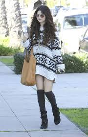 selena gomez sweater get selena gomez s flirty boho chic style shop