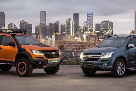 opel colorado holden colorado range facelifts previewed by aussie designed concepts