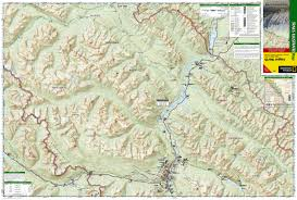 Jasper National Park Canada Map by Jasper North Jasper National Park National Geographic Trails