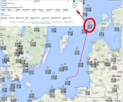 Map Of The Gulf Stream Swedish Air Force Svf622 Military Gulfstream Aerospace Giv Sp Over