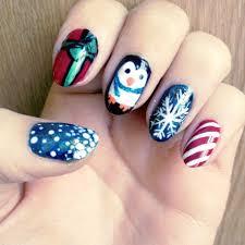 16 nail art designs easy easy christmas nail art designs ideas