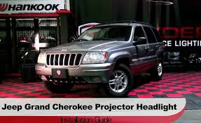 spyder auto installation 1999 2004 jeep grand cherokee halo