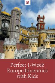 best itineraries for a week in europe with part 1