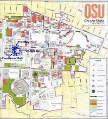 Oregon State Campus Map Sou Ashland Campus Map Pictures To Pin On Pinterest Pinsdaddy
