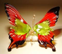 23 best glass butterflies images on glass butterfly